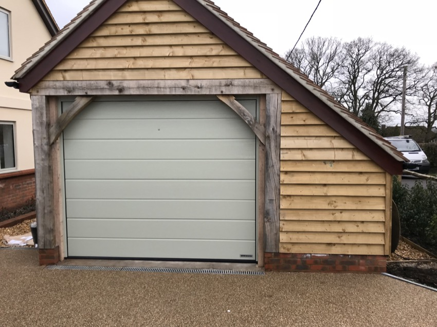 Sectional Garage Doors New Forest